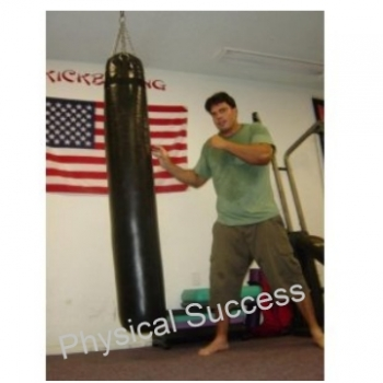 Muay Thai Heavy Kick And Punching Bag Unfilled Empty