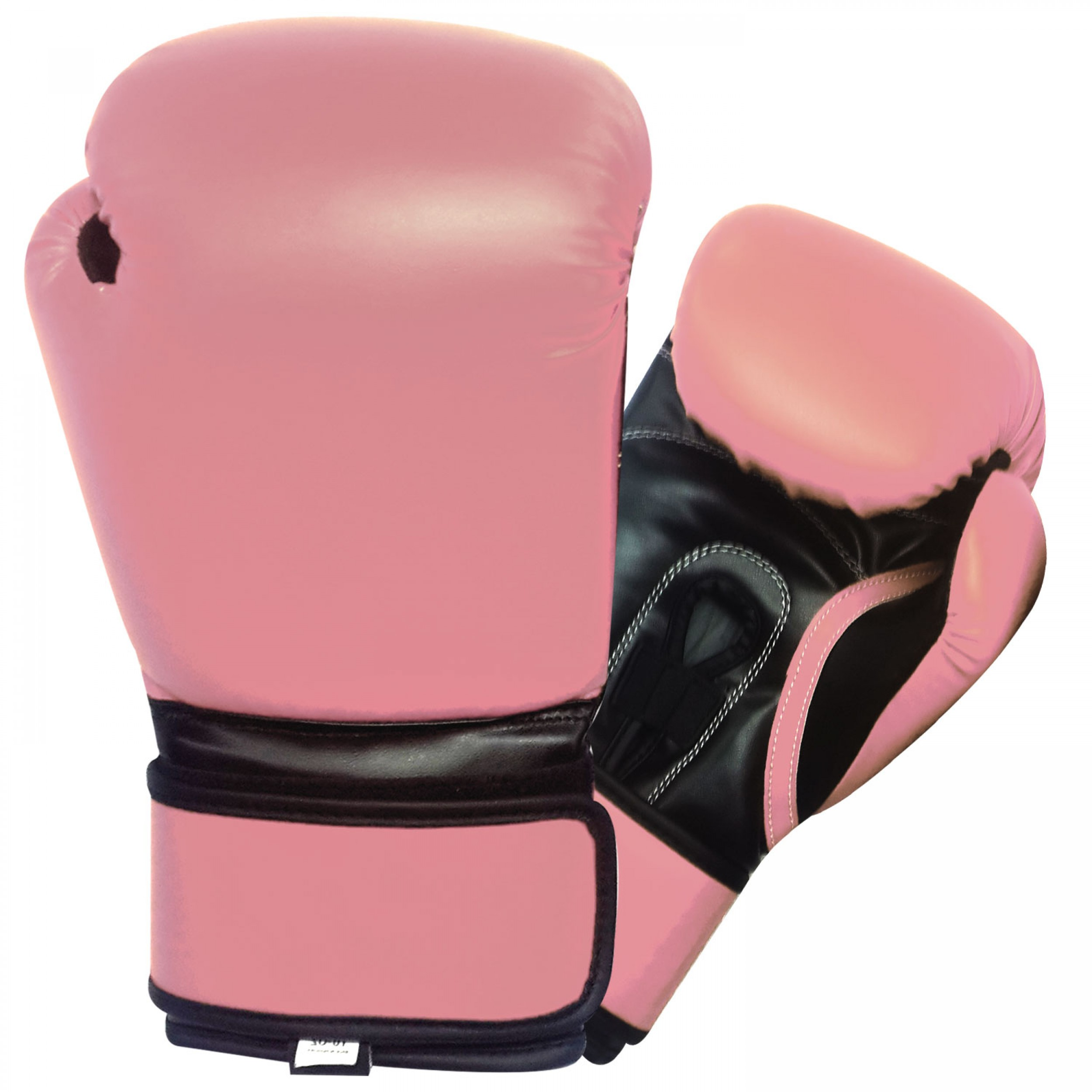 Boking Gloves: Pink And Black 12oz Boxing Gloves For Medium To Large Size